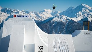 World first Quad cork 1800 on skis - Andri Ragettli