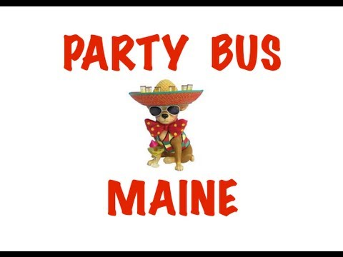 Party Bus Rental in Maine - Portland, Lewiston, Bangor, West Scarborough, South Portland