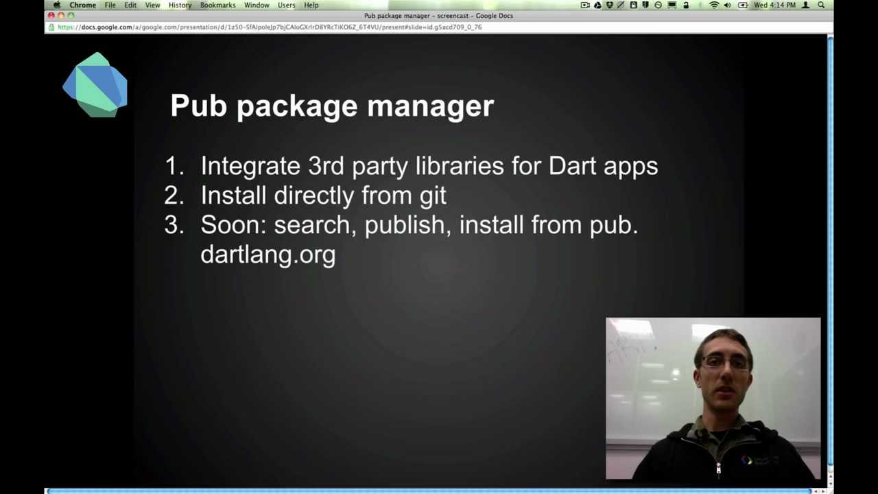 Dart Package Management with Pub