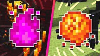 ENDERFLAME + FIREBALL! Neue Mob-Drop Items in Minecraft! | Halbe Items