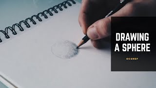 How to DRAW a SPHERE with Pencil
