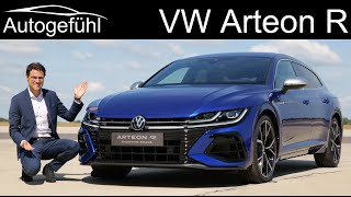 New 320 hp VW Arteon R in the Arteon Shooting Brake vs Gran Turismo Facelift 2021 2020