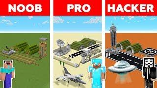 Minecraft NOOB vs PRO vs HACKER : Storm Area 51 Challenge in minecraft / Animation