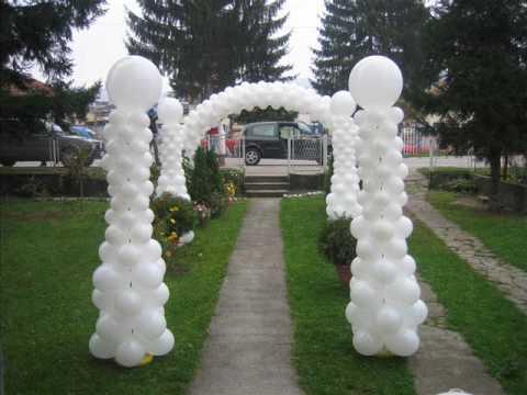 dekoracije za vencanje i svadbe - YouTube