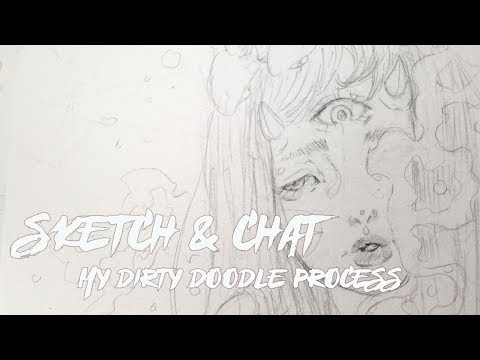 A Look Into My Chaotic Sketching Method | Sketch & Chat