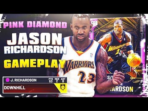 PINK DIAMOND JASON RICHARDSON GAMEPLAY! HES PERFECT! NBA 2k20 MyTEAM