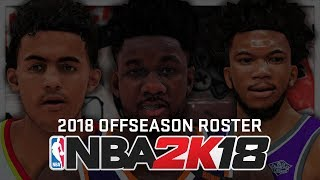 How To Get NBA 2K18 Offseason Roster with Rookies (PC, Xbox One & PS4)