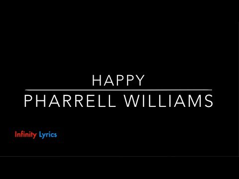 Happy   Pharrell Williams (from Despicable Me 2) [LYRICS ...