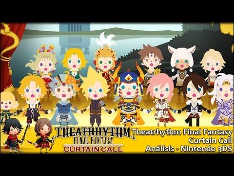 Theatrhythm Final Fantasy Curtain Call | Análisis Español GameProTV