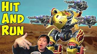 HIT AND RUN! Maxed SHOCKTRAIN RAVANA Gameplay War Robots WR