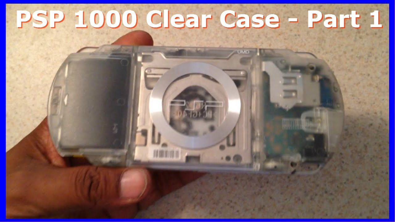 psp case removal part 1 sony psp 1000 clear case modification how to rh youtube com Honda Repair Guide Online Repair Guide