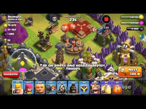 Clash Of Clans SHOW ALL TRAPS MOD 2016 WORKING!