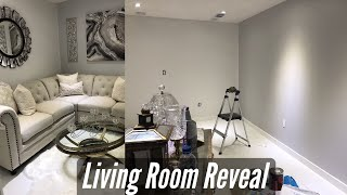 ROOM REVEAL | LIVING ROOM  REFRESH WITH THRIFT STORE FURNITURE