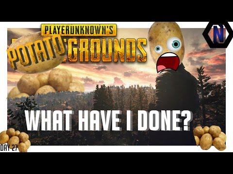POTATO GROUNDS   Funny Glitches - PLAYER UNKNOWN BATTLEGROUNDS