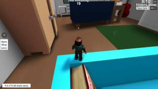 The hideout in ROBLOX with Darkeness and yel