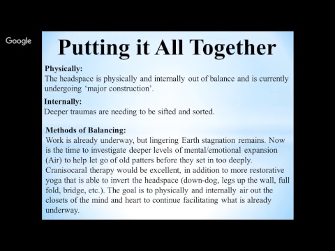 Foot Reading Video 2-1-18