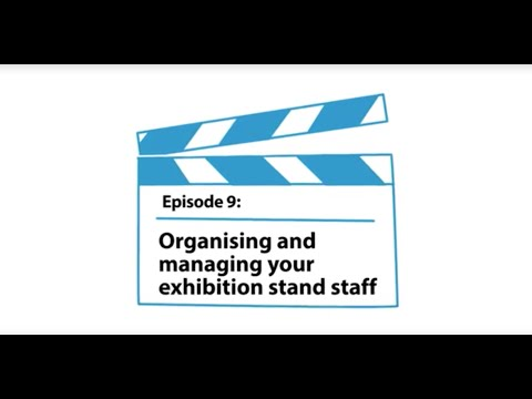 Organising and managing your exhibition stand staff #9 - Mirage Display
