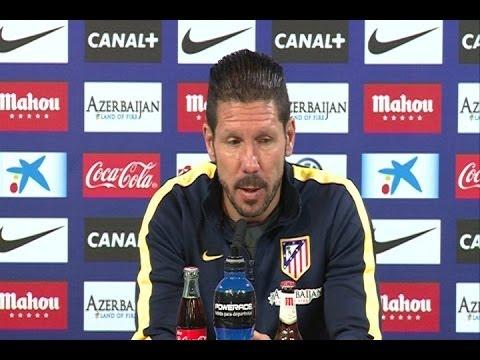"""Simeone: """"Para nosotros la Liga es el día a día"""""""