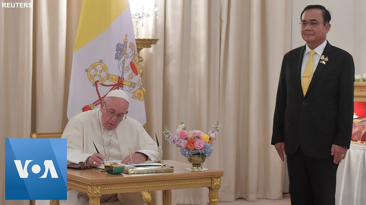 Thai Prime Minister Prayuth Chan-Ocha Holds Meeting with Pope Francis