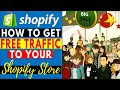 How To Get Free Traffic To Your Shopify  Dropshipping Store