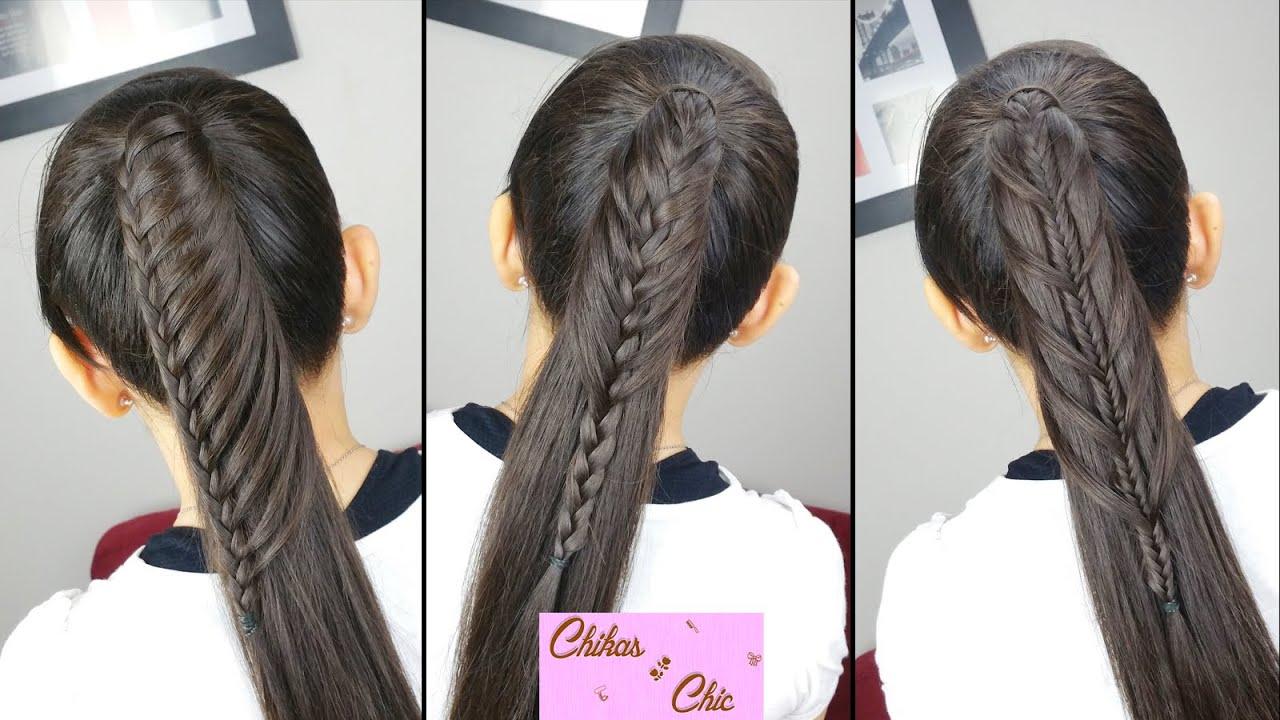 Peinados faciles en cola