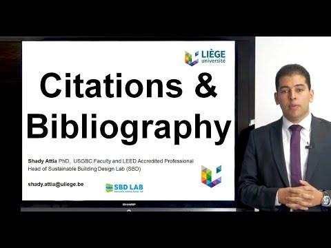 Citations & Bibliography