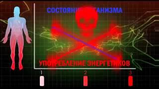 видео Вред энергетических напитков