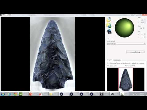 Documentation Of Lithic Artifacts Using An Inexpensive Refle