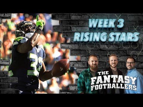 Fantasy Football 2016 - Week 3 Studs, Duds, Rising Stars, & Injuries - Ep. #272