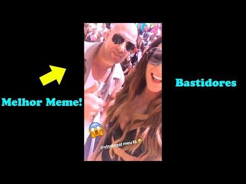 Vin Diesel e as Panicats - Bastidores do Pânico na Band - 12/11/17