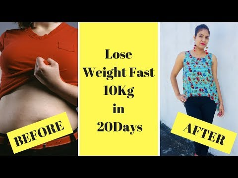 How to Lose Weight Fast 10 Kg In 20 Days | Effective Way to Lose Weight | Pooja Pundir