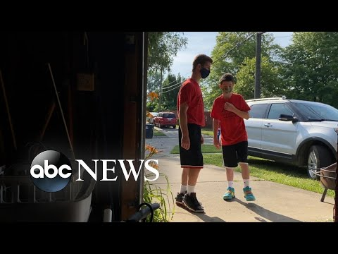 Brothers work together to help neighbors in need
