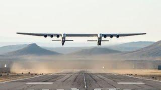 Stratolaunch: Testflug des größten Flugzeugs der Welt