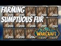 Sumptuous Fur Farm for Hexweave Bag Wod  Patch 7.3
