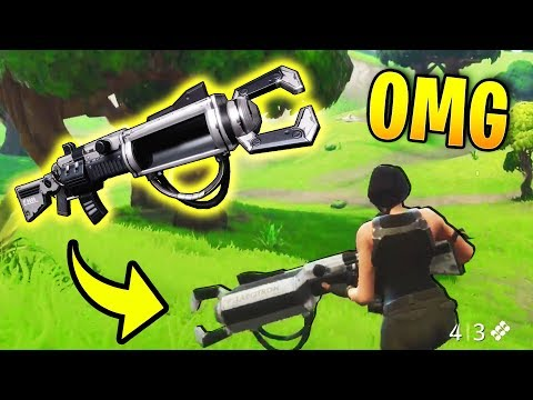 RAREST WEAPON IN FORTNITE WAS FOUND! (Zapotron Sniper) | Fortnite Best Stream Moments #7