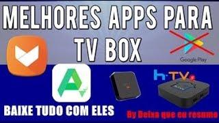 MELHORES APLICATIVOS PARA SEU HTV BOX 5 / HTV BOX 3