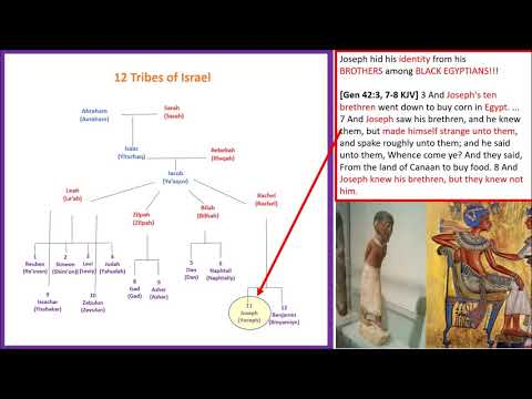 How to Prove All 12 Israelite Tribes Were Black - 5Mins
