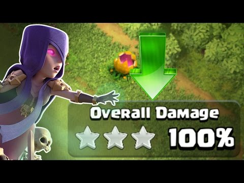 """INVINCIBLE WITCHES!?! """"WITCH SLAP"""" - Clash Of Clans"""