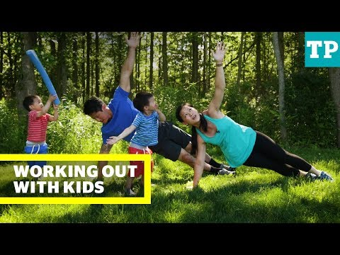 Working out with your kids at home | Family Fitness