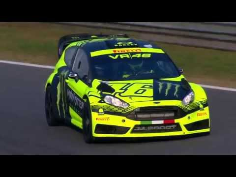Monster Energy Monza Rally Show 2015: Lo Shakedown Di Valentino Rossi