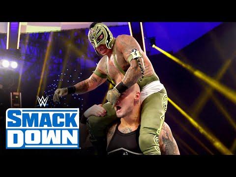 Rey Mysterio vs. King Corbin: SmackDown, Jan 15, 2021