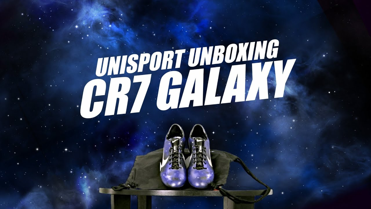 unboxing nike mercurial vapor ix cr7 galaxy by unisport