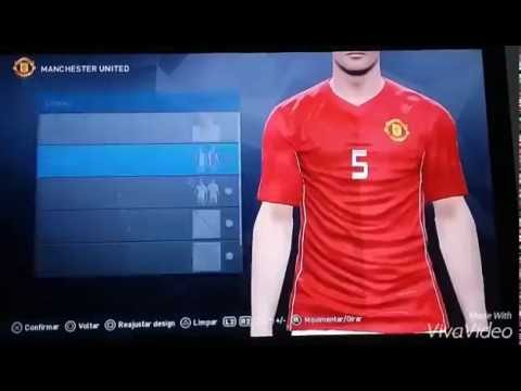 PES 2017 – 1st Kit Home Manchester United 2017 Own resources