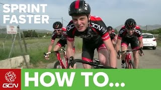 How To Sprint Faster   GCN's Road Cycling Tips