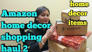 amazon home decor shopping haul 2,decor items shopping haul,Amazon Haul for home Decorative Items