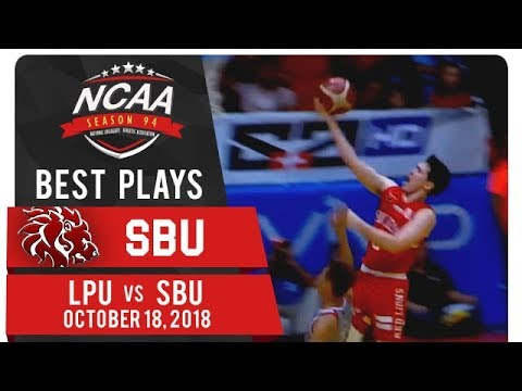 NCAA 94 MB: Robert Bolick outruns defense to make LPU pay for turnover| SBU | Best Plays