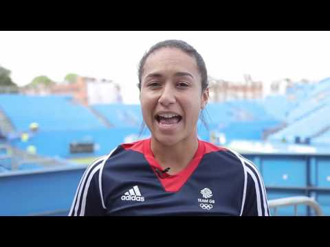 Heather Watson's favourite Olympic memory