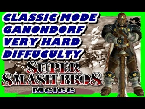 Super Smash Bros Melee Ganondorf Classic Very Hard