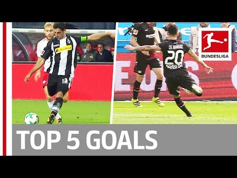 Aranguiz, Augustin, Stindl and More - Top 5 Goals on Matchday 04