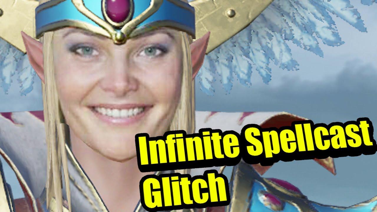 Infinite Spell Cast Glitch in Total war Warhammer